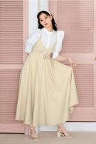Dress Winter 2020 Off white, black, mocha 0=S,1=M Sleeveless Sweet V-neck Solid color Socket other