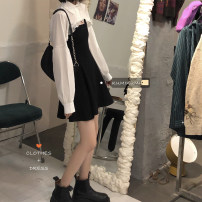Fashion suit Spring 2021 Average size Suspender skirt, top 18-25 years old 30% and below