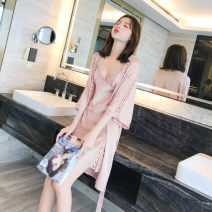 Outdoor sports windbreaker female 201-500 yuan home daily YK78039 160(M),165(L),170(XL) summer polyester fiber
