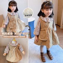 suit Other / other 5 (order according to size chart), 7 (order according to size chart), 9 (order according to size chart), 11 (order according to size chart), 13 (order according to size chart), 15 (order according to size chart) female winter leisure time Long sleeve + skirt 2 pieces routine Socket