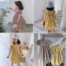 Dress Yellow flower, red flower female Other / other 80 (recommended height 80-90cm), 90 (recommended height 90-100cm), 100 (recommended height 100-105cm), 110 (recommended height 106-112cm), 120 (recommended height 113-120cm), 130 (recommended height 121-125cm), 140 (recommended height 125-130cm)