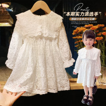 Dress As shown in the picture female Other / other 7 (order according to size chart), 9 (order according to size chart), 11 (order according to size chart), 13 (order according to size chart), 15 (order according to size chart) Other 100% spring and autumn Korean version Long sleeves Solid color