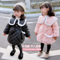 Dress Black, pink female Other / other 5 (order according to size chart), 7 (order according to size chart), 9 (order according to size chart), 11 (order according to size chart), 13 (order according to size chart) Other 100% winter Korean version Long sleeves Solid color cotton A-line skirt AMY632