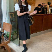 Fashion suit Summer 2021 Average size Bubble sleeve shirt, niche vest skirt 18-25 years old 71% (inclusive) - 80% (inclusive)