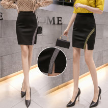 skirt Autumn 2020 S,M,L,XL,2XL,3XL,4XL,5XL Gold, silver Short skirt Versatile Natural waist skirt Solid color Type O 25-29 years old 51% (inclusive) - 70% (inclusive) other Viscose Splicing 401g / m ^ 2 (inclusive) - 500g / m ^ 2 (inclusive)