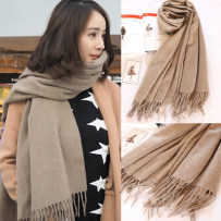 Scarf / silk scarf / Shawl Cashmere Spring and autumn and winter currency Scarves / scarves multi-function Korean version rectangle Youth, middle age and old age Solid color tassels 70cm 200cm More than 96% Other / other AC2806 200