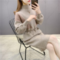 sweater Winter 2020 S M L XL Khaki black Long sleeves Socket singleton  Medium length other 95% and above Half high collar thickening commute routine other Straight cylinder Regular wool Keep warm and warm 25-29 years old Imongssan / yimengshang 67YMSXX18207 Pocket tie Other 100%