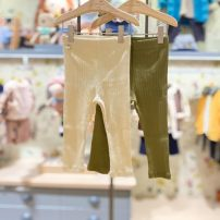 trousers moimoln neutral 90 for about 75cm, 100 for about 85CM, 110 for about 95cm, 120 for about 105cm, 130 for about 115cm CE Mibai, ol green, CE Mibai (within 48 hours), ol green (within 48 hours) spring and autumn trousers Korean version No model Casual pants Leather belt middle-waisted other