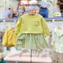 Dress YG yellow purchasing agent , YG yellow (delivery within 48 hours) female moimoln 80 for about 65cm, 90 for about 75cm, 100 for about 85CM, 110 for about 95cm, 120 for about 105cm Other 100% spring and autumn Korean version Long sleeves other other M211OPB47P Class B