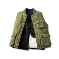 Vest Winter of 2019 Black, army green M,L,XL,2XL routine street Single breasted other 18-24 years old Other / other 81% (inclusive) - 90% (inclusive) cotton Multiple pockets
