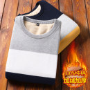 T-shirt / sweater Coprinus Youth fashion M L XL XXL XXXL thickening Socket Crew neck Long sleeves winter Slim fit Cotton 100% leisure time tide youth routine stripe Winter of 2019 No iron treatment Regular wool (10 stitches, 12 stitches) Pure cotton (95% above) Pure e-commerce (online only)