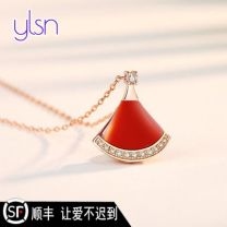Necklace other 1001-3000 yuan Other White, red, red agate with diamond, white Fritillaria with diamond, pink exclusive brand new female goods in stock yes Online gathering features 21cm (inclusive) - 50cm (inclusive) no