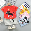 suit Tagkita / she and others 80cm / 55, 90cm / 60, 100cm / 65, 110cm / 70, 120cm / 75 female summer leisure time No model animal cotton H001 Class A 3 months Chinese Mainland