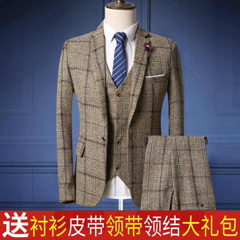 Suit Youth fashion Boshenu grey M routine BSN180630ZY01 Polyester 88.5% regenerated cellulose 11.5% Summer of 2018 Pure e-commerce (online only)