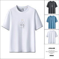 Polo shirt Home HLA / Ji Hailan's home Fashion City thin Mt2123 white, mt2123 gray, mt2123 blue M,L,XL,2XL,3XL,4XL Self cultivation Other leisure summer Short sleeve MT2123 Business Casual routine Cotton 100% 2021 Solid color cotton Hailan home UNIQLO taipingniao other More than 95%