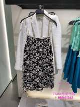 Dress Summer 2021 black XS (160/80A),S (165/84A),M (170/88A),L (175/96A),XL (175/100A) ZARA