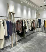 Clothing display rack clothing stainless steel 888888* Fuya clothing rack Official standard