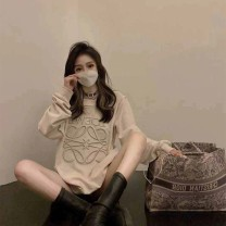 Women's large Autumn 2020 Picture color S M L XL Sweater / sweater singleton  commute easy Socket Korean version Crew neck routine other 18-24 years old Other 100%