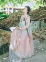 National costume / stage costume Summer of 2018 Set of upper jaw + lower skirt S (shipped at the end of August) M (spot) L (spot) Han Shanghualian HQX202 18-25 years old Polyester 100% Polyester