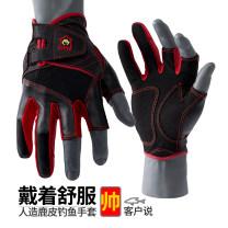 Fishing Gloves Half finger gloves L,XL male