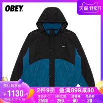 Jacket OBEY Fashion City GRL NYX S L M XL standard Other leisure O8XJK1800431F Polyamide fiber (nylon) 100% Autumn 2020 Same model in shopping mall (sold online and offline)
