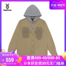 shirt Youth fashion FINGERCROXX S M L XL Bgx / Beige BKX / Black routine Hood Long sleeves standard Other leisure autumn FFXSTM80154XD teenagers Cotton 100% tide 2019 Autumn of 2019 other Same model in shopping mall (sold online and offline)