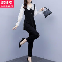 Fashion suit Autumn 2020 L [recommended 100-118 kg] XL [recommended 120-133 kg] 2XL [recommended 135-148 kg] 3XL [recommended 150-163 kg] 4XL [recommended 165-178 kg] 5XL [recommended 180-200 kg] 25-35 years old Lumengti Z16210817 Other 100% Pure e-commerce (online only)