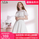 Dress Summer of 2018 White grey S M L XL XXL Middle-skirt singleton  Sleeveless commute Crew neck High waist Socket Princess Dress 25-29 years old Type A Alice's Fairy Tales lady Cut out zipper HL003XB 91% (inclusive) - 95% (inclusive) polyester fiber Pure e-commerce (online only)
