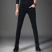 Jeans Youth fashion Taoniukong Twenty-eight MS9188 routine Micro bomb Regular denim Two hundred and nine Cotton 98% polyurethane elastic fiber (spandex) 2% Fall 2017 Pure e-commerce (online only)