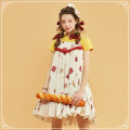 Dress Summer of 2018 The generation color is yellow S M L singleton  Sweet camisole 18-24 years old Lolita
