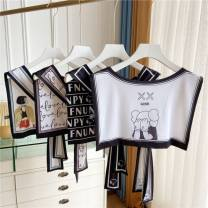 Scarf / silk scarf / Shawl polyester Spring and autumn, summer female Shawl multi-function Korean version other Students, youth, youth, middle age Cartoon animation printing Other / other G54512