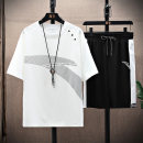 T-shirt Youth fashion Cabano thin Short sleeve Crew neck easy Other leisure summer KBATX-T2101. Polyester 100% teenagers routine tide other Solid color Summer 2021 polyester fiber other Non iron treatment Fashion brand Pure e-commerce (online sales only) Cool feeling More than 95% 4XL M L XL 2XL 3XL