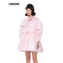 Dress Autumn 2020 Pink (spot) XS/6 S/8 M/10 L/12 Short skirt Long sleeves Crew neck 18-24 years old Type A SHUSHU TONG More than 95% polyester fiber Polyester 100% Same model in shopping mall (sold online and offline)