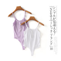 Jumpsuit / pants 31% (inclusive) - 50% (inclusive) shorts other middle-waisted White b-16-16-2, black b-16-16-2, light purple b-16-16-2 XS,S,M,L,XL,2XL Summer 2021 Lady Boya