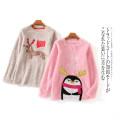 Sweater / sweater Winter 2020 Red b-21-16-1, pink b-21-16-1, khaki b-21-16-1, gray b-21-16-1 XS,S,M,L,XL Long sleeves Socket singleton  Plush Crew neck commute Cartoon animation Lady Boya Simplicity Embroidery