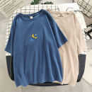 T-shirt M L XL 2XL 3XL 4XL Summer 2020 Short sleeve Crew neck easy Regular routine commute cotton 96% and above 18-24 years old Korean version originality Cartoon animation Several seedlings C4460 printing Cotton 100% Pure e-commerce (online only)