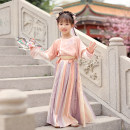 Tang costume Xiaopiao - flat collar suit - delivery on April 30 110cm 120cm 130cm 140cm 150cm Polyethylene terephthalate (PET) 98% polyurethane elastic fiber (spandex) 2% female spring and autumn There are models in the real shooting routine Initial establishment polyester fiber Class B other CTT149