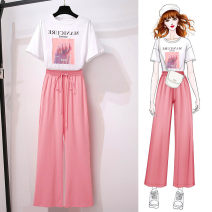 Fashion suit Spring 2021 M L XL XXL XXXL Black Pink Blue 18-25 years old Doyen 168- Polyester 100% Exclusive payment of tmall