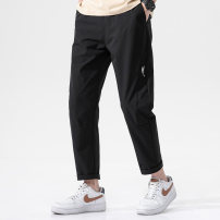Casual pants Binmanson Youth fashion 8008 black 8008 army green 8008 light grey M L XL 2XL 3XL 4XL Ninth pants Other leisure easy WH-CH8008zhn summer teenagers tide 2021 Polyester 100% No iron treatment Summer 2021 Pure e-commerce (online only)