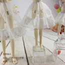 BJD doll zone other 1/4 Over 14 years old Customized Hexagonal Lace Petticoat to be delivered within 7 days 6 points, 4 points, 3 points, custom size shooting items Light purple baby clothes