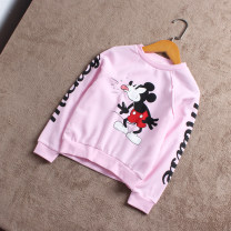 Sweater / sweater female Other / other spring and autumn nothing leisure time routine Condom No model in real shooting Cartoon animation polyester cotton Cotton 85% polyester 15% C127-L2 other 3, 4, 5, 6, 7, 8, 9, 10, 11, 12, 13, 18 months, 2, 14 Pink