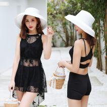 Bikini Baiya M [80-95 Jin], l [95-105 Jin], XL [105-130 Jin] Skirt bikini With chest pad without steel support polyester fiber