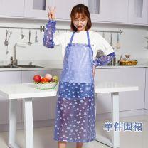apron Sleeveless apron waterproof Korean version PVC Household cleaning Average size W007 public