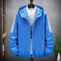 Jacket Other / other Youth fashion Blue, red, gray, orange, black M (60-80 Jin), l (80-100 Jin), XL (100-120 Jin), 2XL (120-140 Jin), 3XL (140-160 Jin), 4XL (160-175 Jin), 5XL (175-195 Jin), order free freight insurance! thin easy Other leisure spring New polyester fiber 100% Long sleeves Wear out