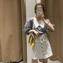 skirt Summer 2020 S,M,L White, blue