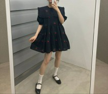 Dress Spring 2021 White, black