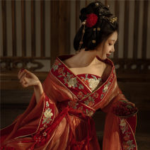 Hanfu 96% and above Xs, s, m, l, XL, customized construction period increased by 1 month, average length 98-105 polyester fiber