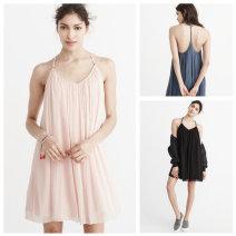 Dress Summer of 2019 Black, blue, pink XS (p-short version), XS (regular), XS (T-long version), s (p-short version), s (regular), s (T-long version), m (p-short version), m (regular), m (T-long version), l (regular), l (T-long version), XL (p-short version), XL (regular), XL (T-long version) Sweet