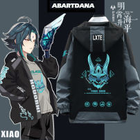 Jacket Abartdana / auberton Youth fashion White 1, white 2, white 3, black 1, black 2, black 3, blue 1, blue 2, blue 3, blank, no pattern, please note, support to map customization, please consult customer service M L XL XXL XXXL standard Other leisure 202007300841_ 95Cz7 Polyester 100% Spring 2021