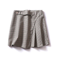 skirt Spring 2021 S,M,L,XL Tibetan rice longuette commute High waist A-line skirt lattice Type A 25-29 years old More than 95% other Cellulose acetate Button